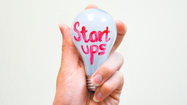 Ilustrasi startup.