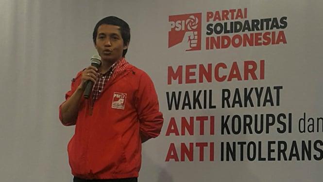 Sekretaris Jenderal Partai Solidaritas Indonesia atau PSI, Raja Juli Antoni.