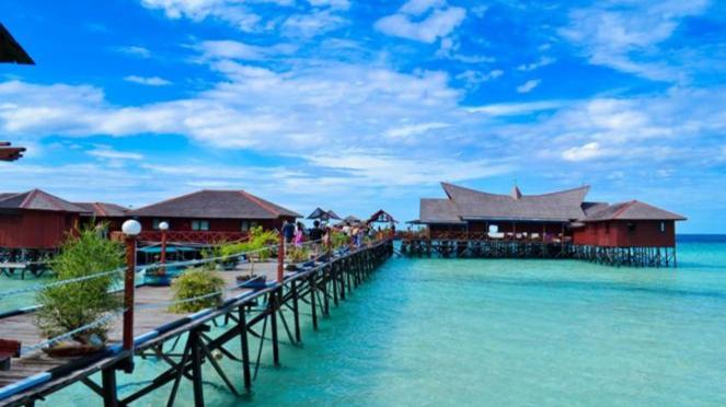 Pulau Derawan.