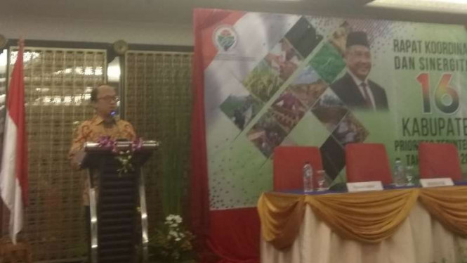 Sekretaris Kementerian Desa PDTT Anwar Sanusi