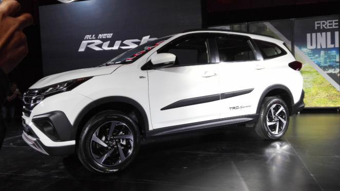 All New Toyota Rush 2017.