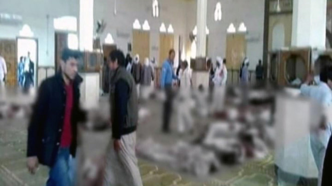 Aksi teror dan penembakan brutal di Mesir