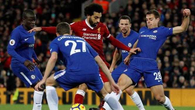 Pertandingan Liverpool kontra Chelsea