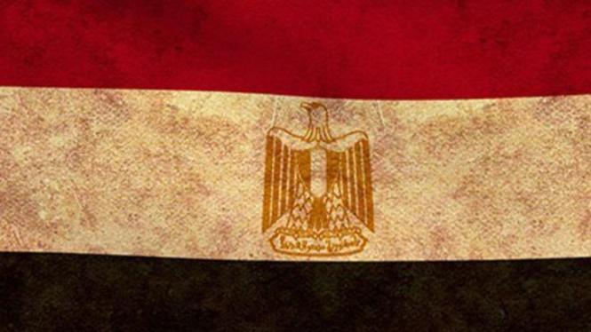 Bendera Mesir.