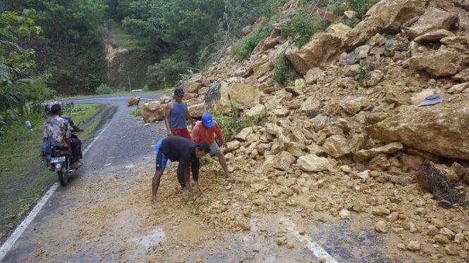 Kondisi Pacitan Saat Dilanda Banjir Bandang dan Tanah Longsor