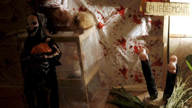 Ilustrasi salah satu film horor