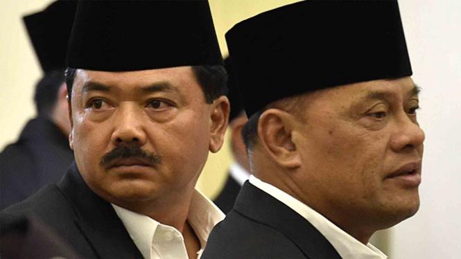 Hadi Tjahjanto & Gatot Nurmantyo