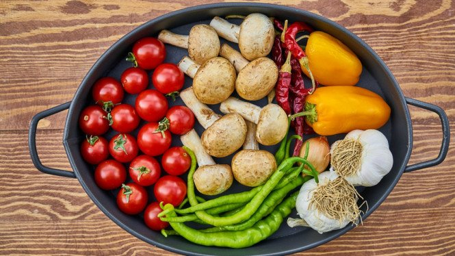 ilustrasi sayuran.