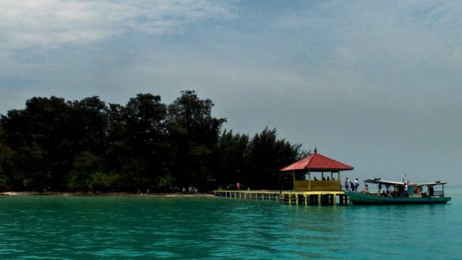 Pulau Semak Daun di Kepulauan Seribu