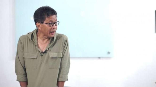 Pengamat politik Universitas Indonesia Rocky Gerung