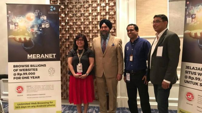 Peluncuran Meranet di Indonesia