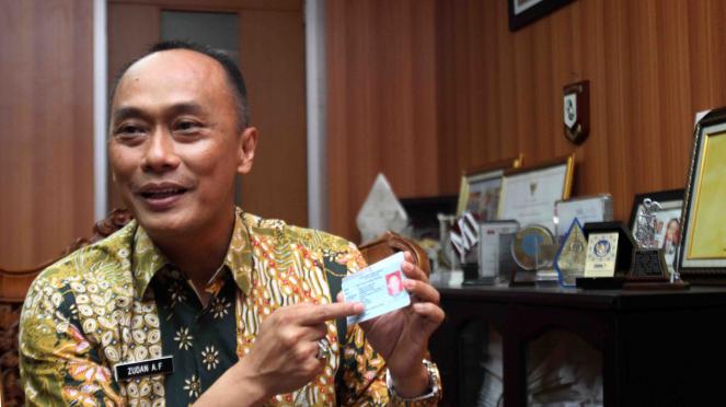 Dirjen Dukcapil Kemendagri Zudan Arif Fakhrulloh.