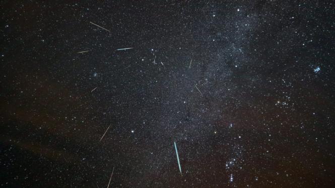 Hujan meteor Geminid pada 2015