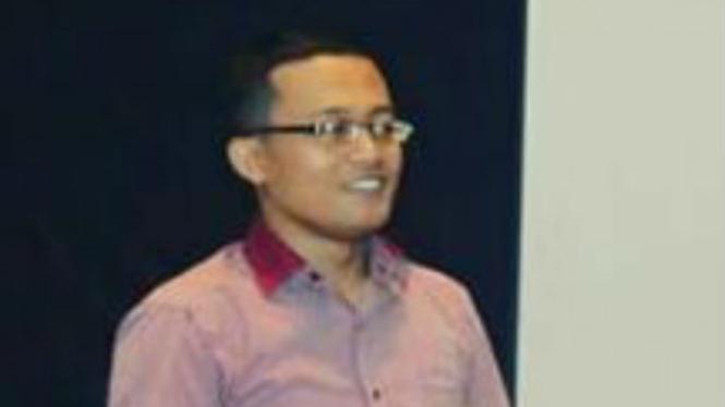 Calon Ketua Umum KAMMI periode 2017-2019, Aza El Munadiyan.
