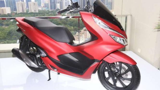All new PCX versi lokal meluncur di Jakarta.