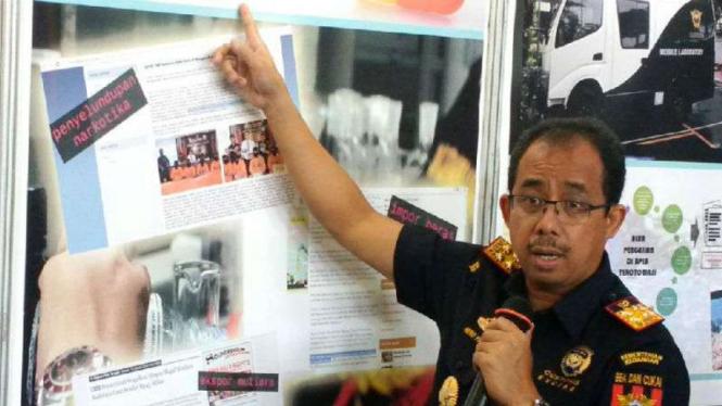 Direktur Jenderal Bea Cukai, Heru Pambudi.