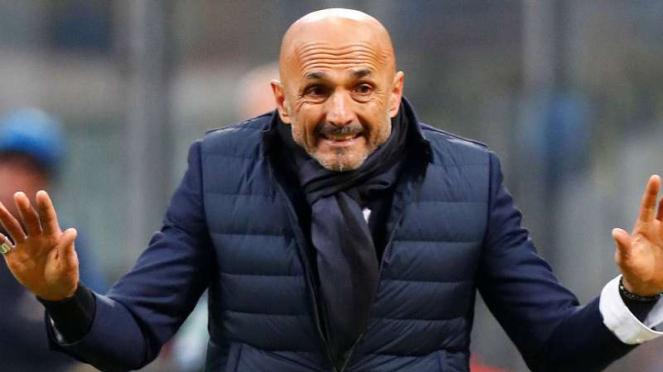 Pelatih Inter Milan, Luciano Spalletti.