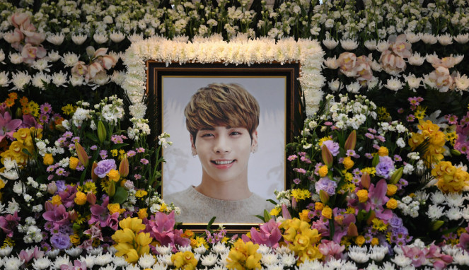 Pemakaman personel SHINee Jonghyun