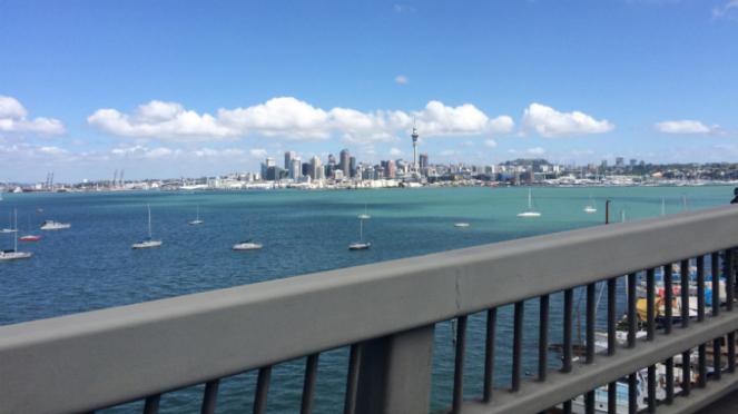 Kota Auckland, Selandia Baru.
