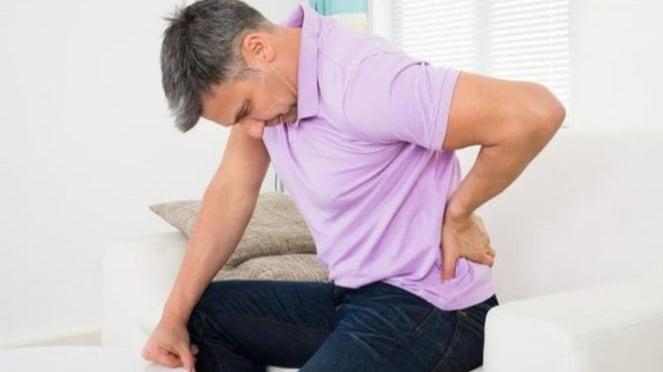 Ilustrasi penderita kanker prostat.