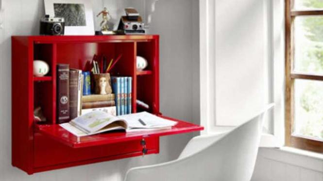 Manfaatkan dinding rumah menjadi tempat belajar Anda