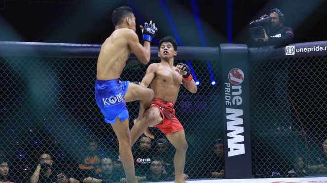Duel Asep Abdul Rohman versus Dedi Kurniawan