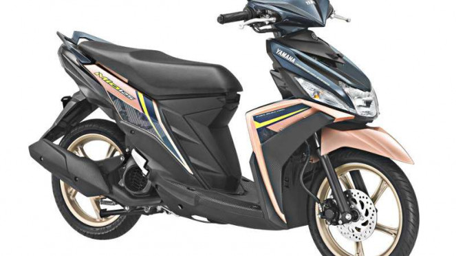 Warna dan grafis baru Yamaha Mio M3 125