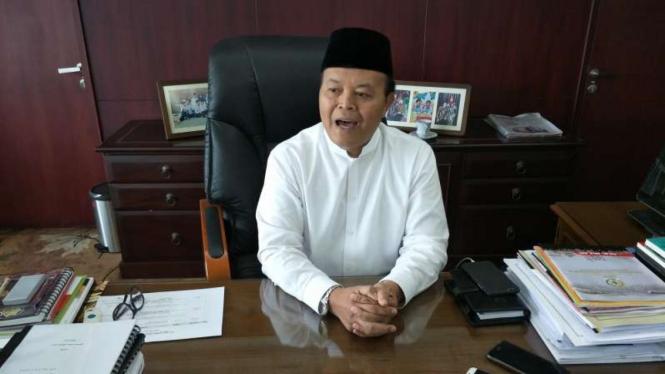 Wakil Ketua Majelis Syuro Partai Keadilan Sejahtera Hidayat Nur Wahid.
