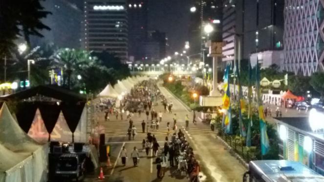 Car free night Jakarta 2018