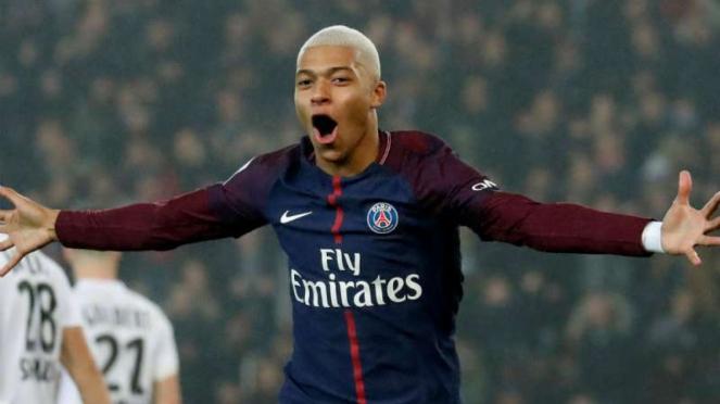 Striker Paris Saint-Germain, Kylian Mbappe.