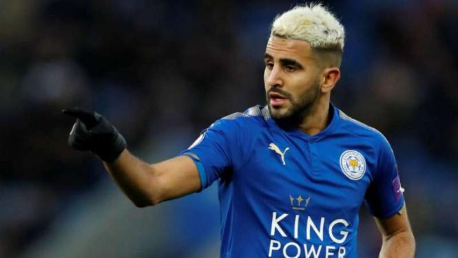 Gelandang Leicester City, Riyad Mahrez