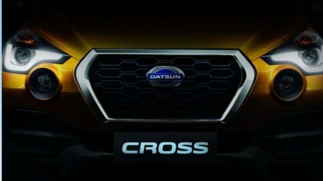 Teaser Datsun Cross.