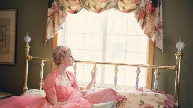 Motif bunga untuk kamar tidur