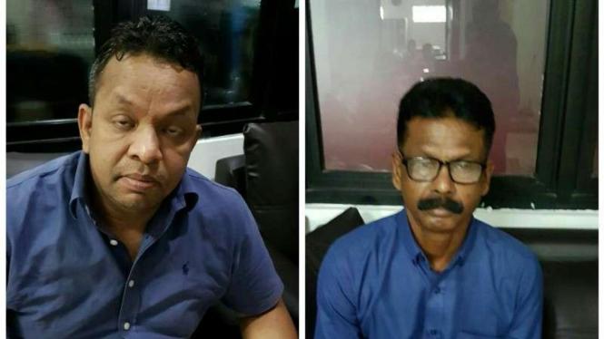 Dua warga Bangladesh yang ditangkap