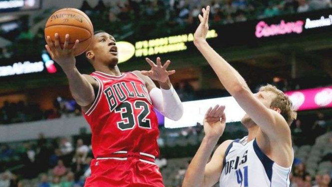 Laga NBA, Dallas Mavericks vs Chicago Bulls