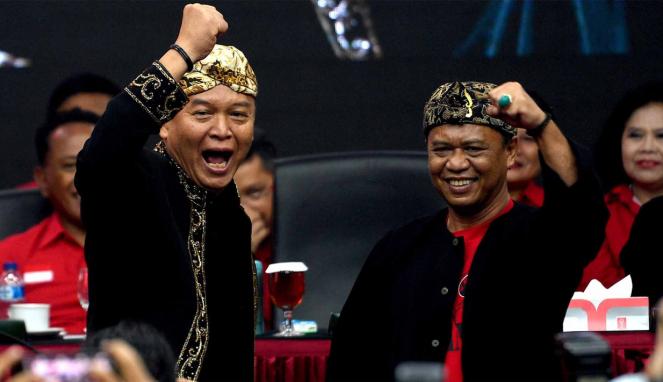 Bakal Cagub dan Cawagub Jabar, TB Hasanuddin dan Anton Charliyan