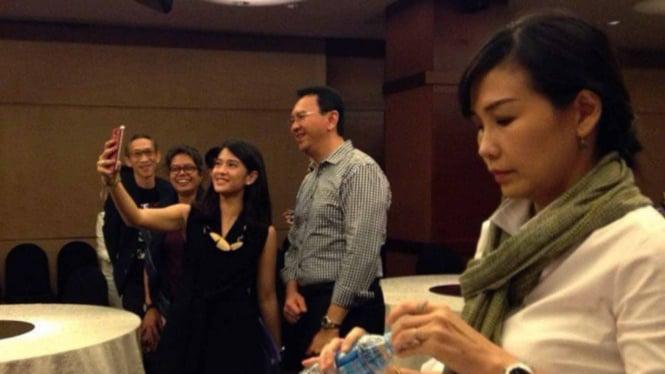 Ahok dan Veronica Tan