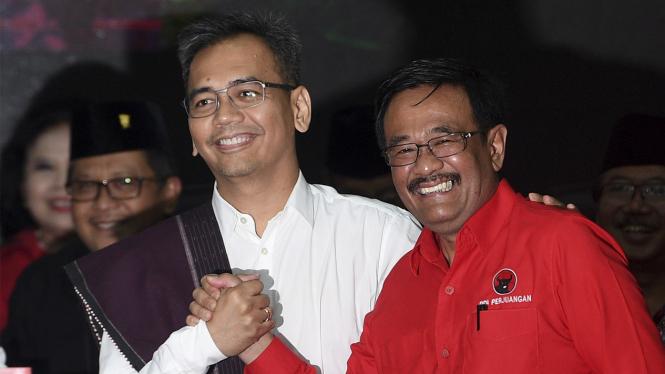 Djarot Saiful Hidayat dan Sihar Sitorus.
