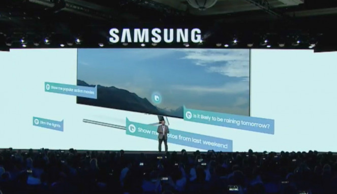 Samsung di CES 2018