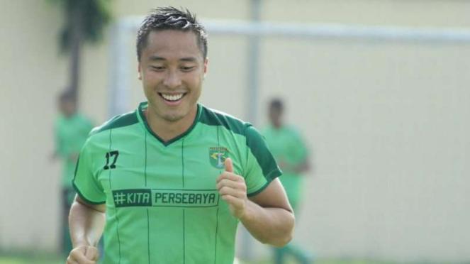 Arthur Irawan menjalani sesi trial bersama Persebaya Surabaya