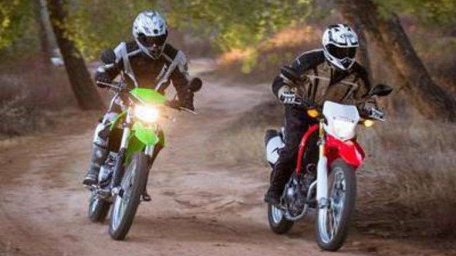 Harga Terbaru Honda Crf Vs Kawasaki Klx Viva