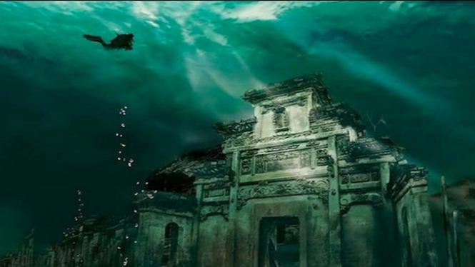 Dasar penemuan bawah laut.