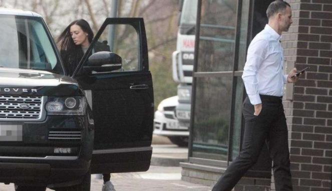 Ryan Giggs dan selingkuhan Kate Graville.