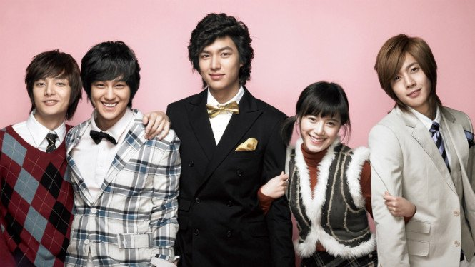 Serial drama Korea, Boys Over Flowers.