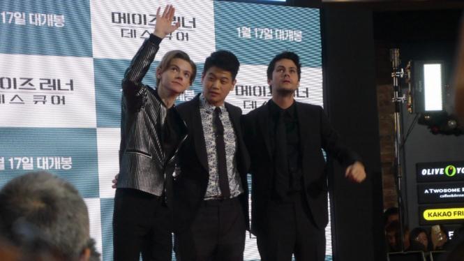 Thomas Brodie-Sangster, Ki Hong Lee, Dylan O'Brien