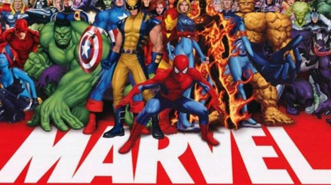 Para superhero Marvel