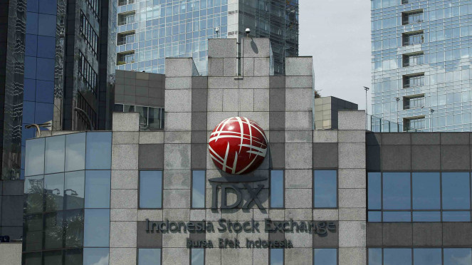 Kondisi Terkini Robohnya Gedung Bursa Efek Indonesia (BEI).