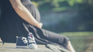 Ilustrasi kehamilan.