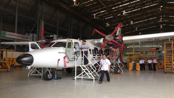 Pesawat buatan PT. Dirgantara Indonesia, N219