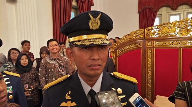 Kepala Staf TNI AU, Marsekal Yuyu Sutisna.